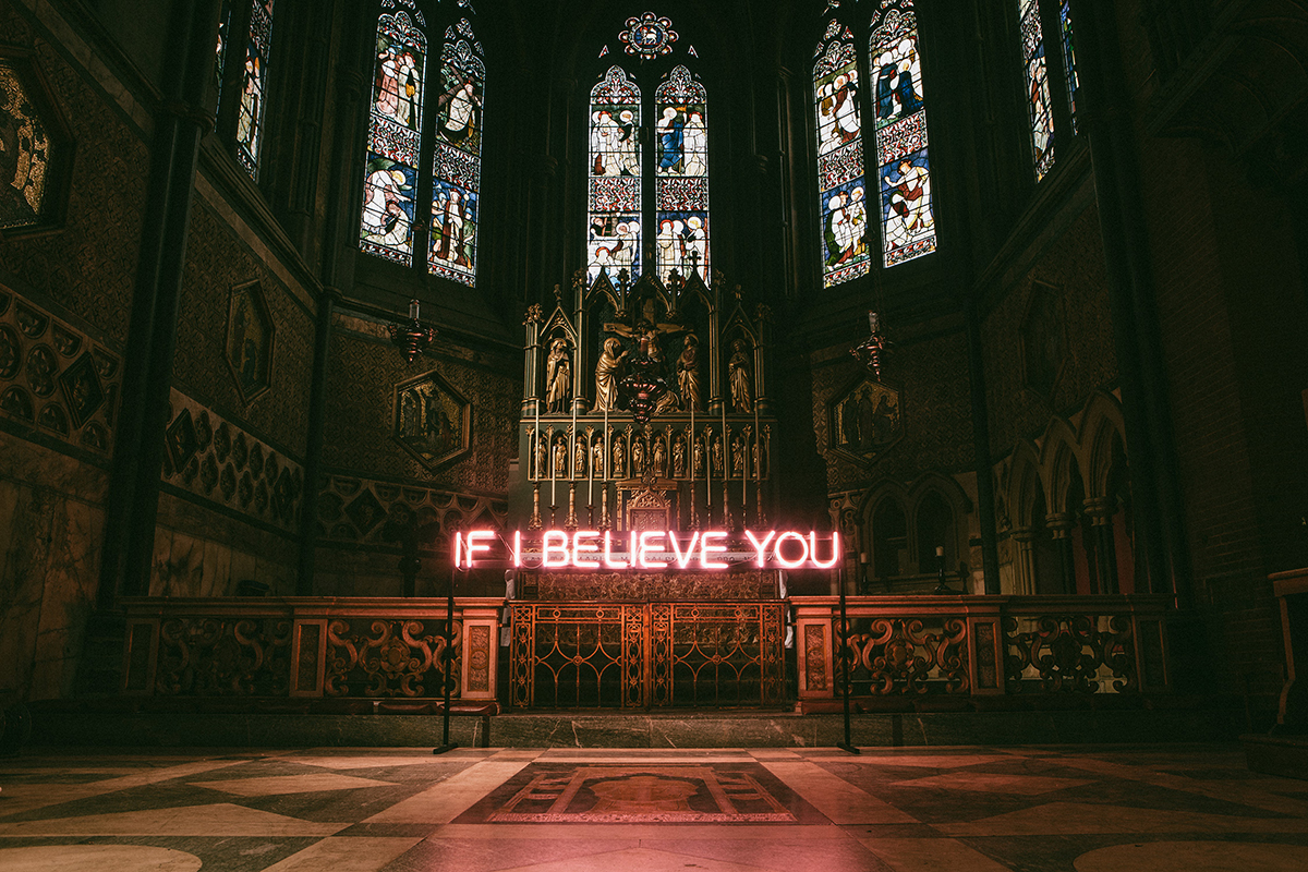 IFIBELIEVEYOU, The 1975. Photographer: David Drake. Art Director/Designer: Samuel Burgess-Johnson