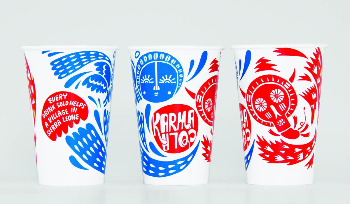 Karma Cola cups