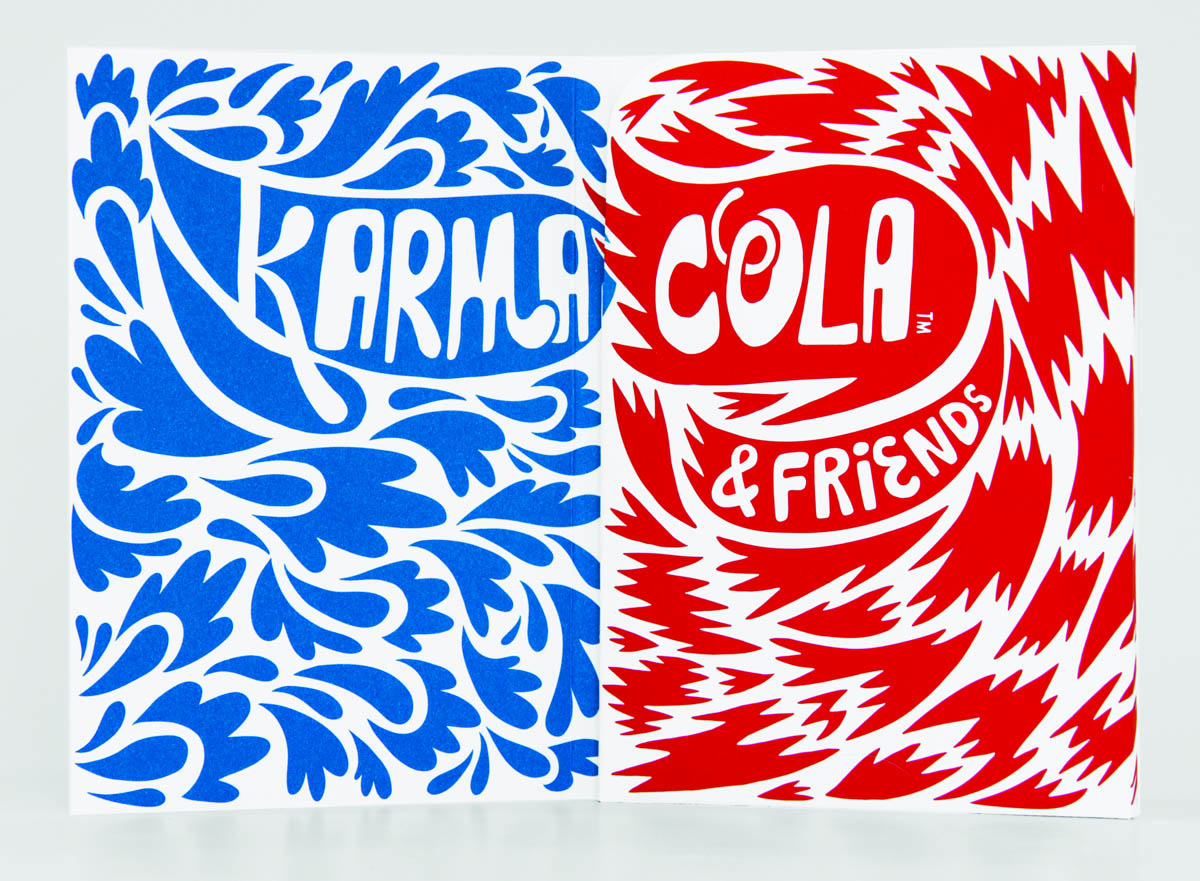 Karma Cola & Friends booklet