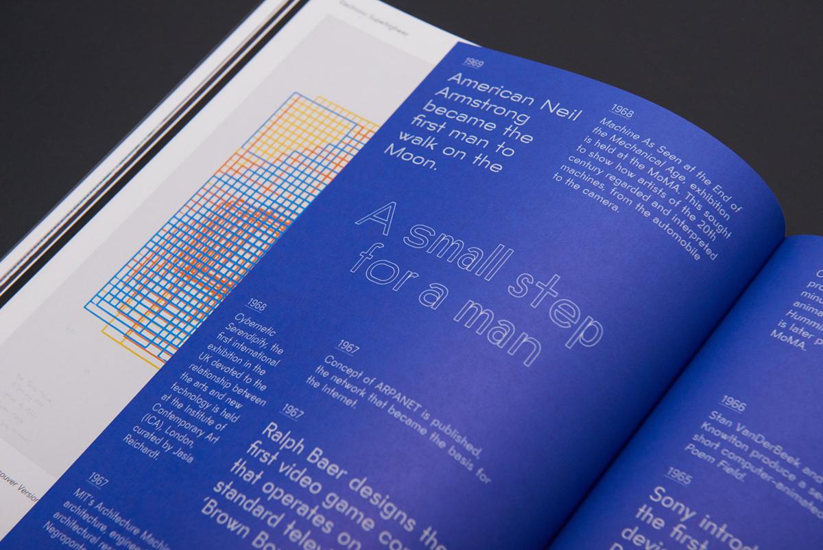 Julia thiết kế catalogue cho nghệ thuật internet chương trình điện tử Siêu xa lộ 3