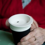 Cup prototype designed by the RC's Helen Hamlyn Centre, developed as part of a research project with Bupa, which considered how to improve care home design for residents living with dementia
