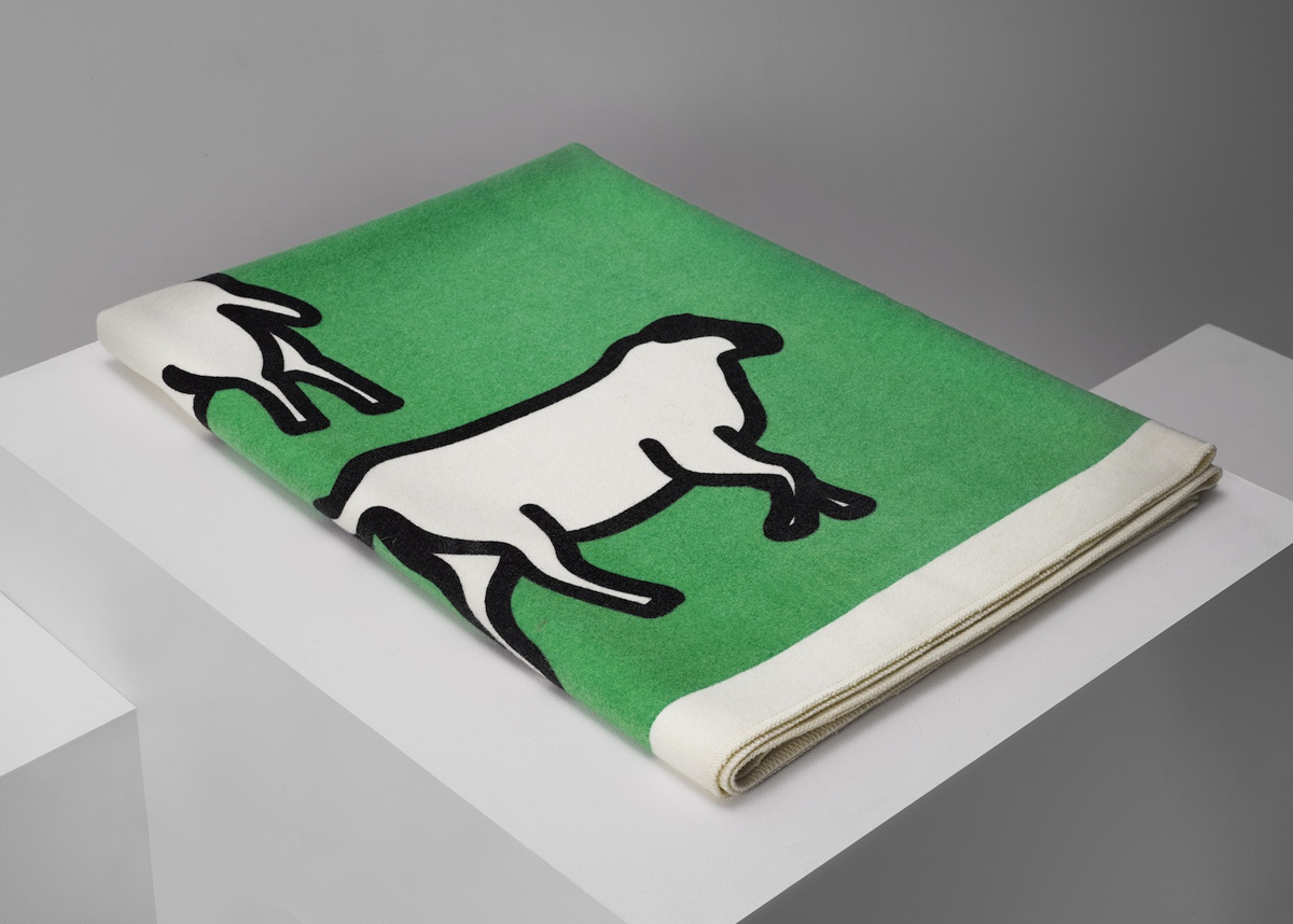 Julian Opie, 'Sheep', 2014. Pure wool blanket. £450
