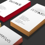 To create an identity for AMPANS, a Catalonian foundation which offers workshops and occupational services to people with intellectual disabilities, Morillas collaborated with some of its users. Paper and business cards, shown