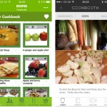 Love Food Hate Waste app; Cookbooth app