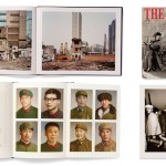 Clockwise from top left: Spread from Burtynsky – China by Edward Burtynsky (Steidl, 2005); Cover and image from The Chinese by Liu Zheng (Dragon Work Chinese Photo, 2000); Spread and gatefold from Box – Pass It On by Peng Yangjun and Chen Jiaojiao (Shang-Xia Ltd., 2010).