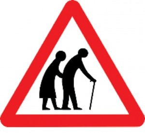 Ever since its launch in 1981, the 'warning, elderly people' road sign has been the focus of complaints and controversy