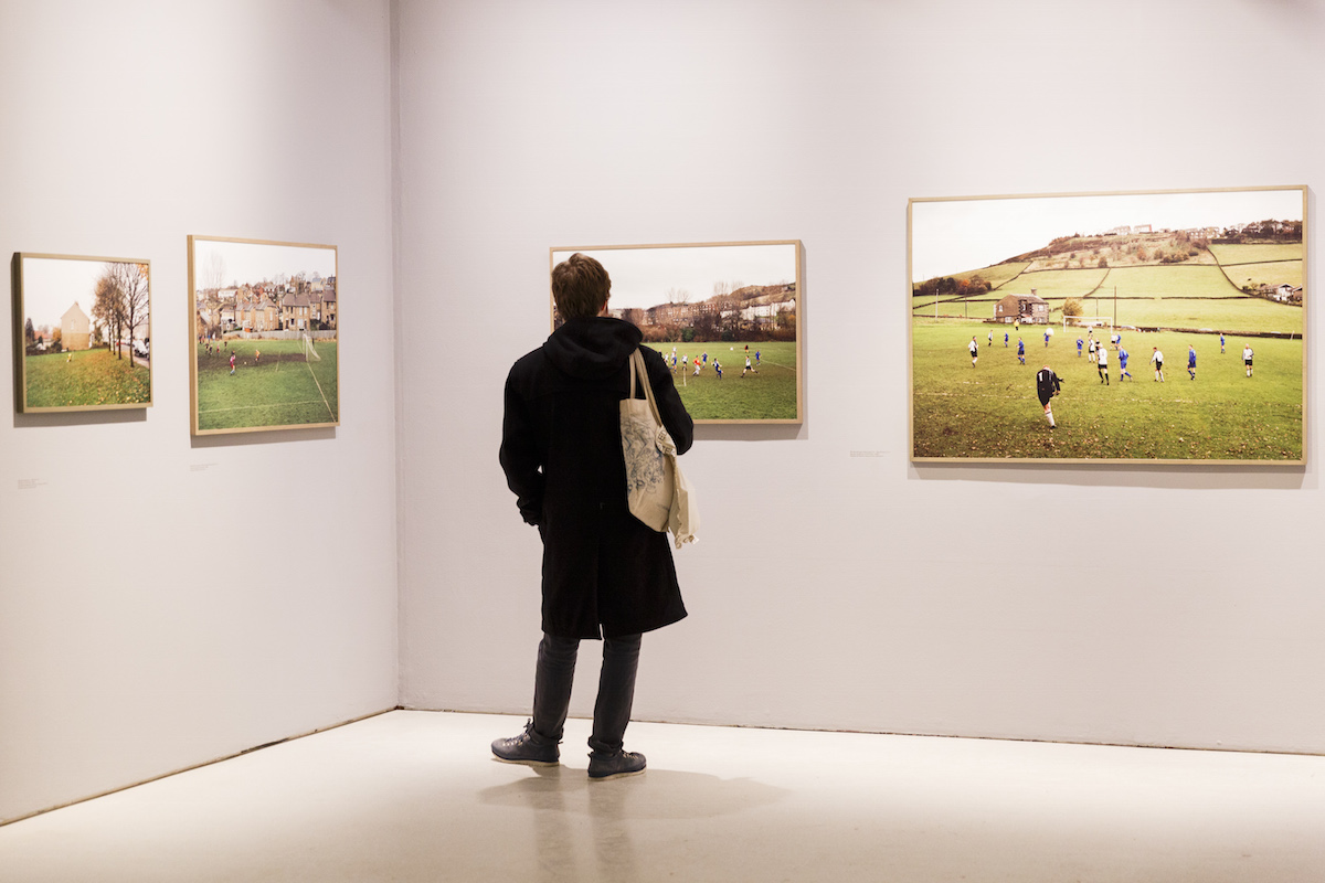 Hans van der Meer's photographs of English amateur football matches