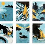 Arthur Ransome series – winner of the Series ABCD Award. Art directed by James Jones