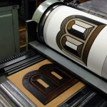 Letterpress printing by Corin Kennington