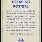Defacing Posters, date unknown, © Victoria & Albert Museum, London