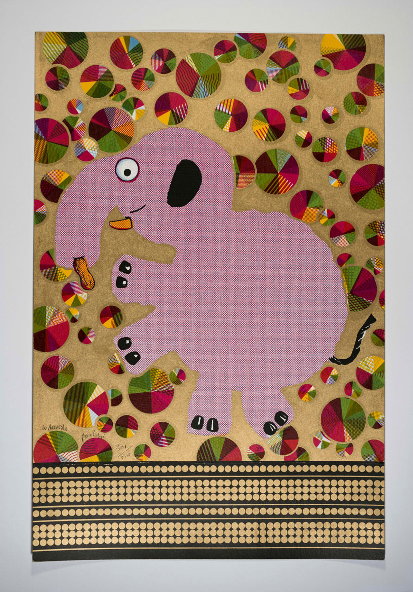 Eduardo Paolozzi, Formica-Formikel from Moonstrips Empire News, 1967. Courtesy YSP © The Eduardo Paolozzi Foundation