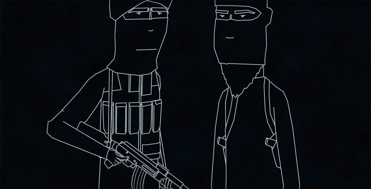 Animations bring Radio 4's 'Life Inside Islamic State' series to life online