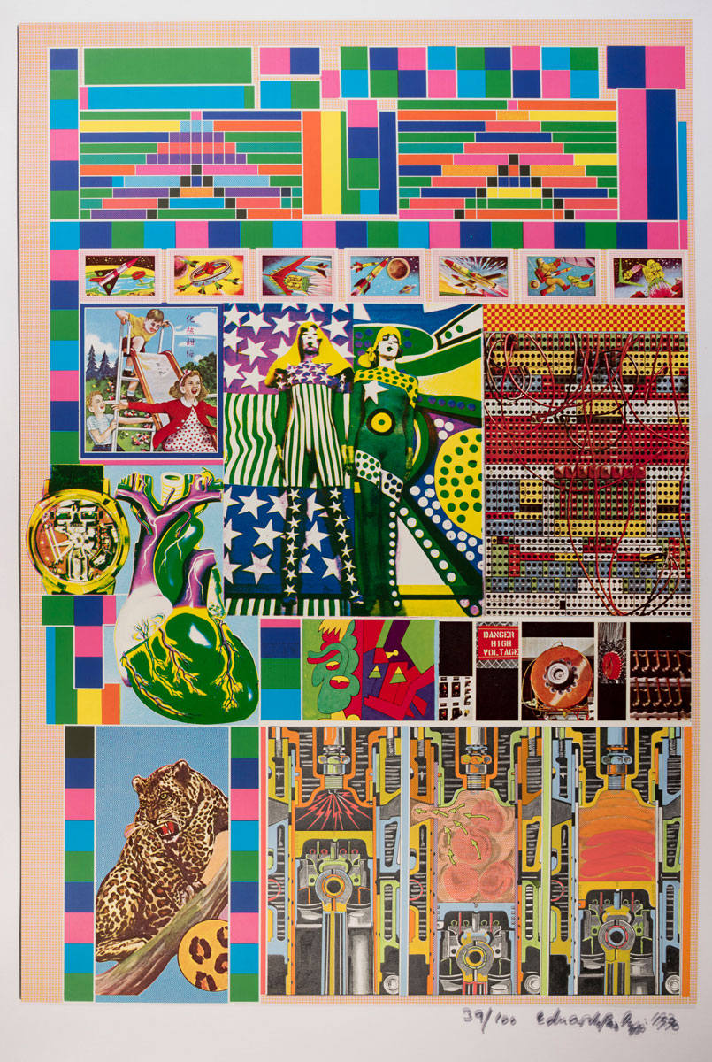 Eduardo Paolozzi, Standard Pacific Time from Zero Energy Experimental Pile, 1969–70. Courtesy YSP © The Eduardo Paolozzi Foundation