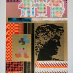 Eduardo Paolozzi, The Silken World of Michelangelo from Moonstrips Empire News, 1967. Courtesy YSP © The Eduardo Paolozzi Foundation