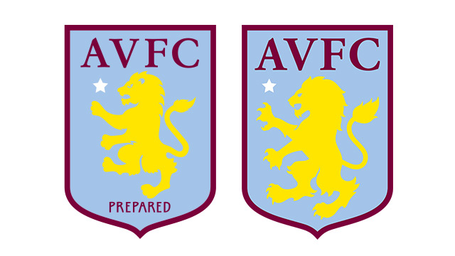 The new badge (right) versus the previous one