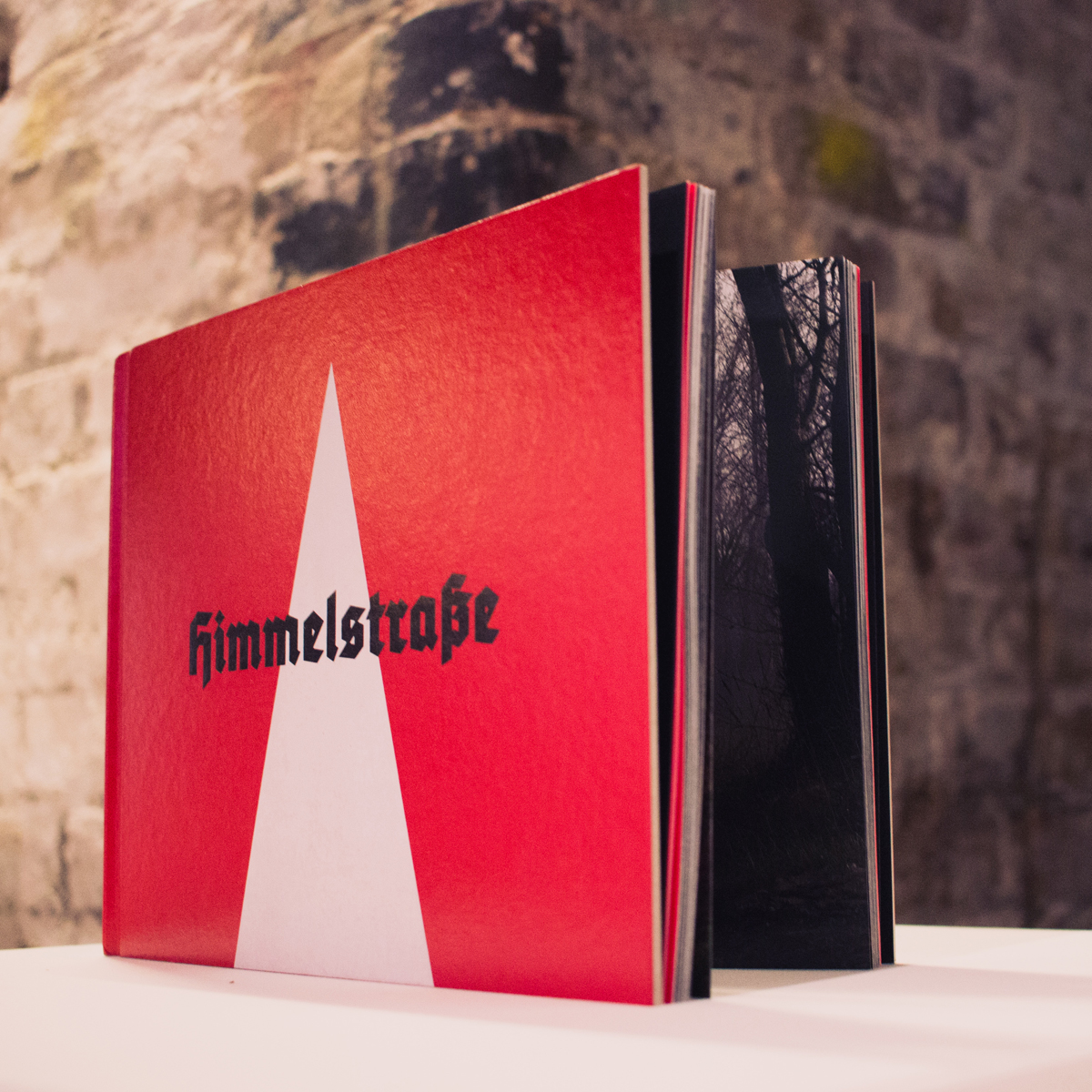 Himmelstrasse, the book of Brian Griffin's powerful photographic project, designed by Browns. A Best in Book winner. Image: wemakepictures.co.uk