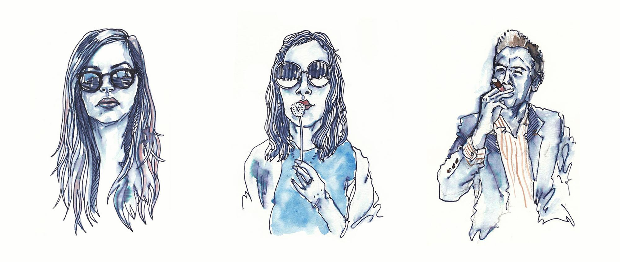 Amy Slatem_Book of faces