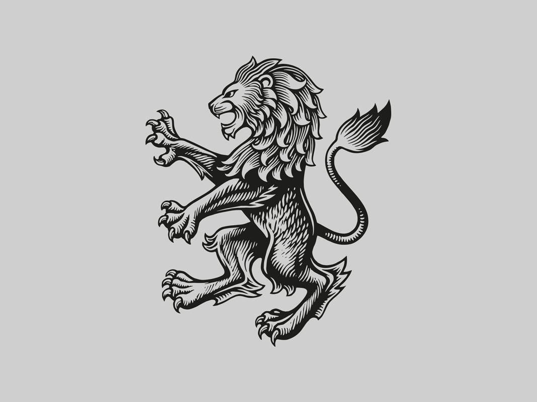 Aston-Villa-Lion Print