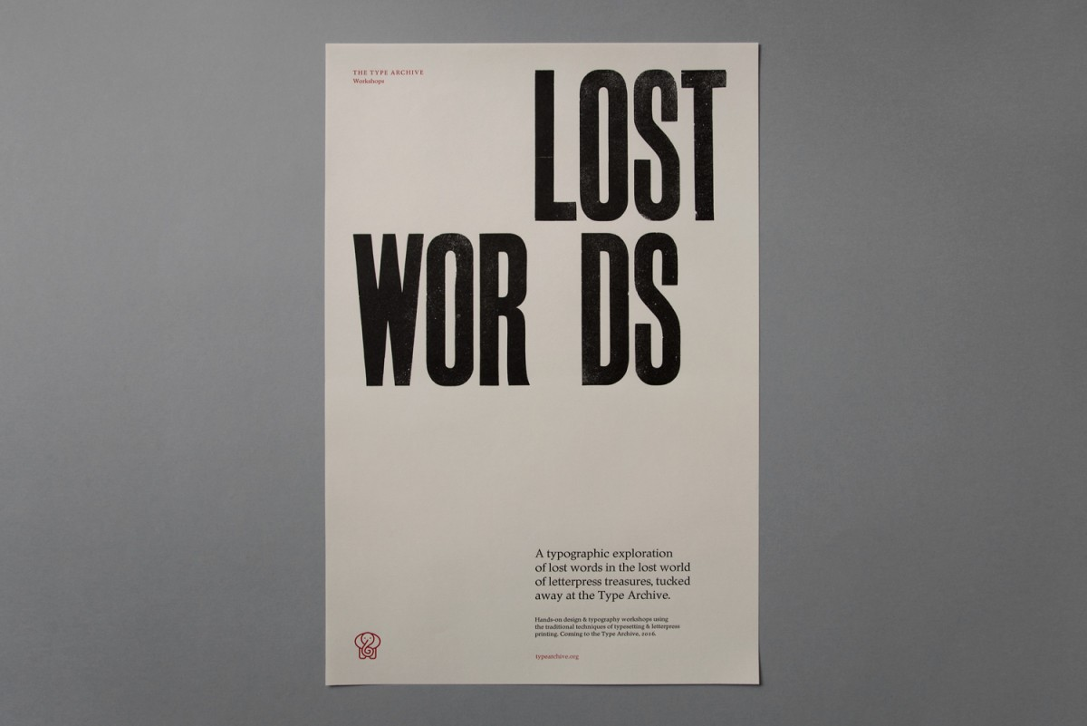 Lost Words: an introduction to letterpress at London's Type Archive