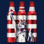 Budweiser bottles by Malika Favre for JKR