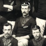 Photograph of 'The Natives' (1888), whose all-black kit became the basis for the official first team All Blacks.