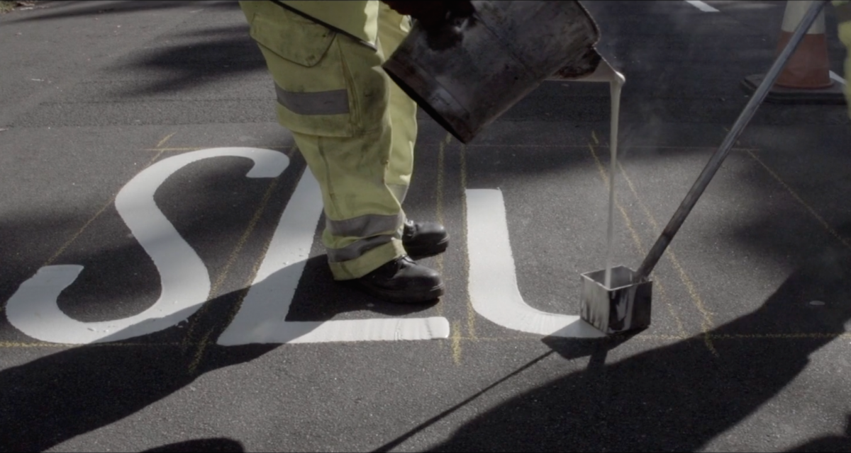 Watch road painters at work in a new film from design studio O Street
