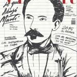 Cover of Cuban digital magazine Vistar, January 2016 issue