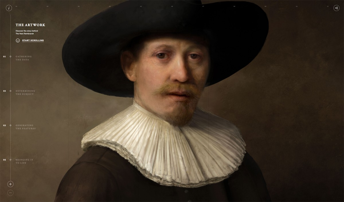 Highlights from the web #2: The Next Rembrandt, The Law of the Jungle, Reuters TV