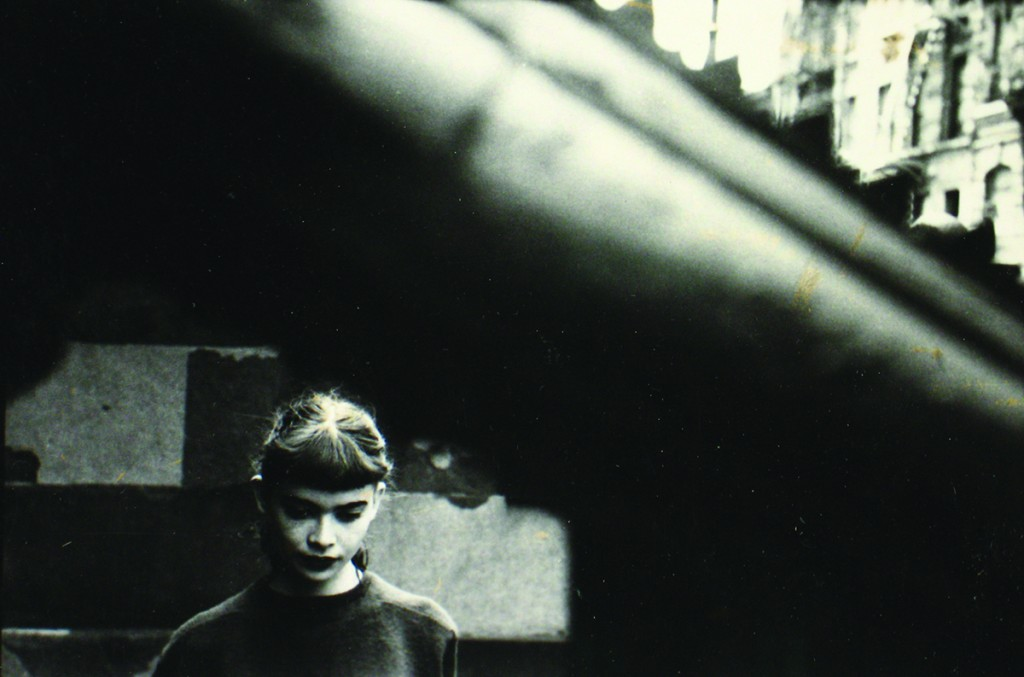 "Daughter of Milton Abery, 1950; Through Boards, ca. 1957; Soames Bantry, Harper's Bazaar, ca. 1963. ""Leiter spent decades avoiding the limelight. He'd often fail to open letters from galleries wanting to show his work"". Image © Saul Leiter. Courtesy Howard Greenberg Gallery, New York"