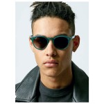 Photo of model wearing Topman sunglasses