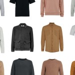 Cut-out shots of Topman shirts and tops