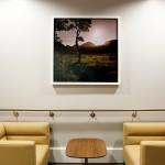 Seating area at The Royal London Hospital, Whitechapel