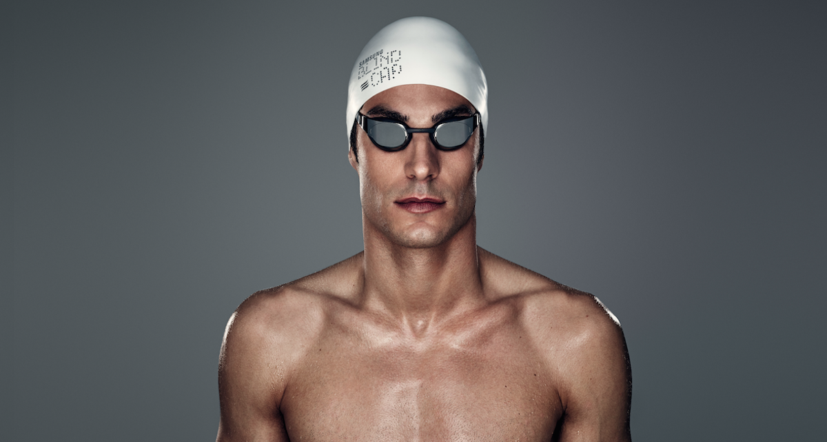 Samsung creates a high-tech swimming cap for blind Paralympic swimmers