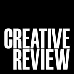 Creative Review wordmark, white out of black version