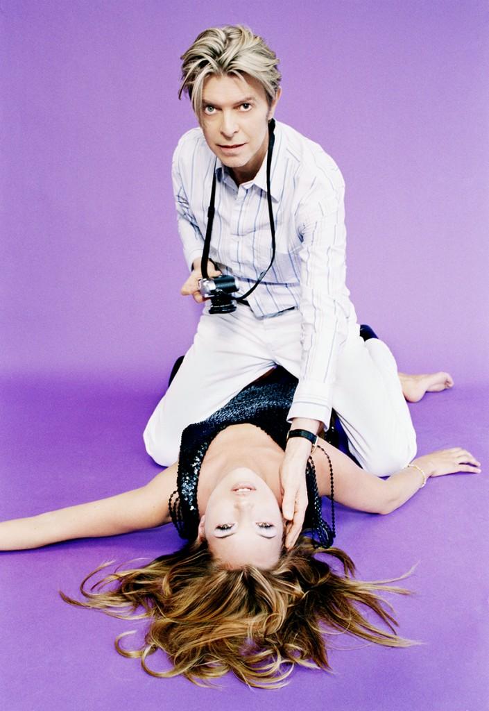 avid Bowie and Kate Moss, 2005 by Ellen von Unwerth ©Ellen von UnwerthCAMERA WORK, Berlin