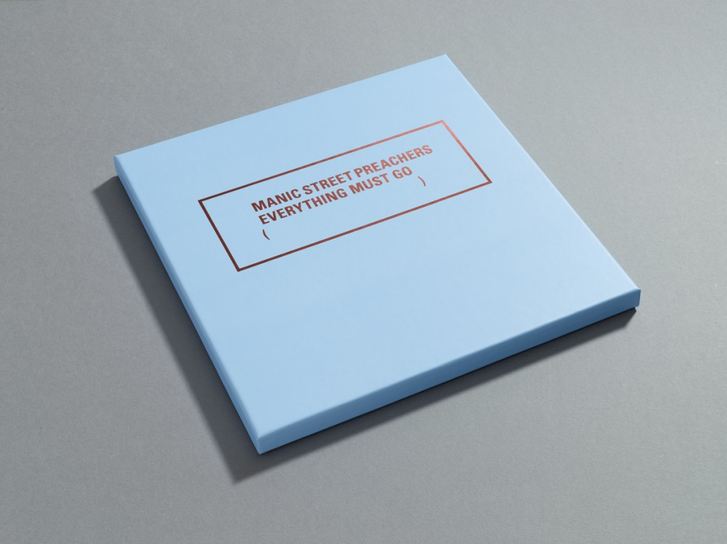 Manic Street Preachers, Everything Must Go 20th Anniversary box set outer