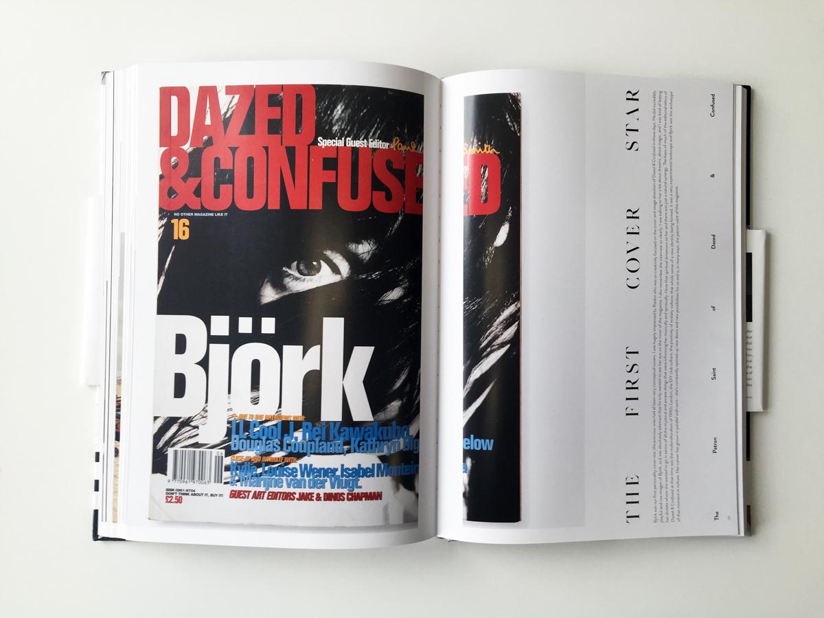 Björk cover shot by Rankin in 1995