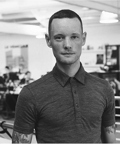 James Fairbank, one of the 2016 creative leaders 50 selected by creative review