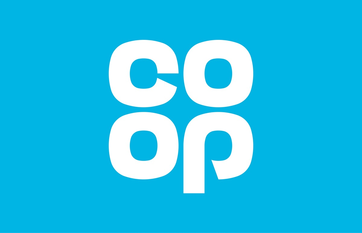 The Co-op returns to its clover-leaf logo from 1968 ...