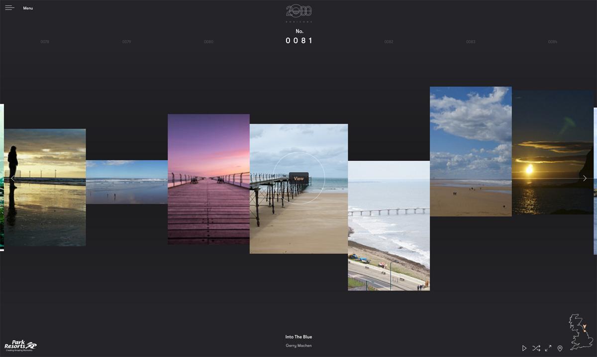 Park Resorts 2000 Horizons website
