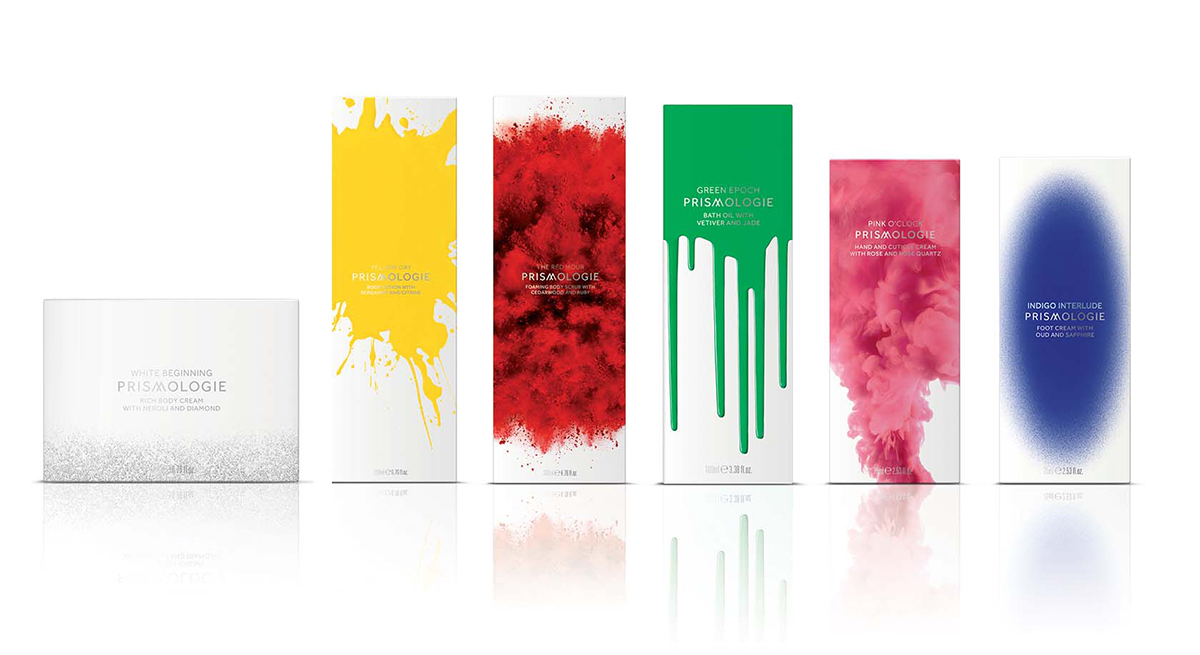 Prismologie packaging designed by Williams Murray Hamm