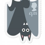 Royal Mail Animail Bat stamp