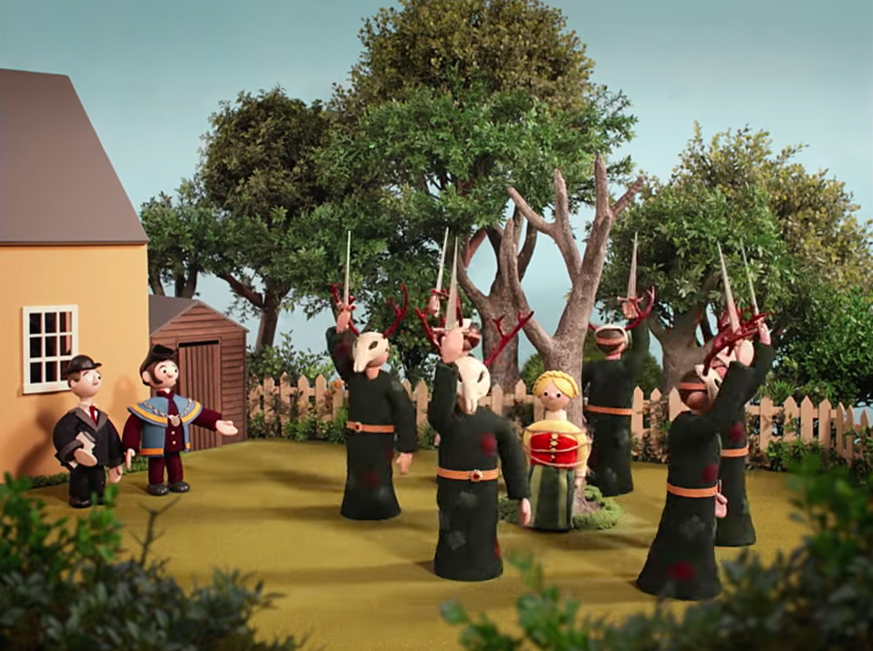 Radiohead releases Burn the Witch video