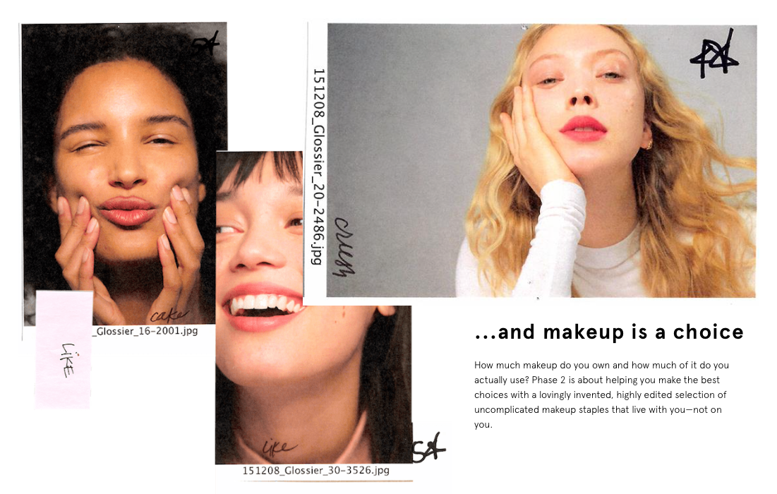 From the Glossier website