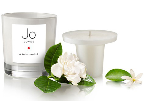 Jo Loves Tahitian, Gardenia, Petitgrain candle