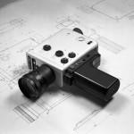 Braun Nizo 561 camera and drawings