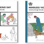 Modern Toss Colouring Books