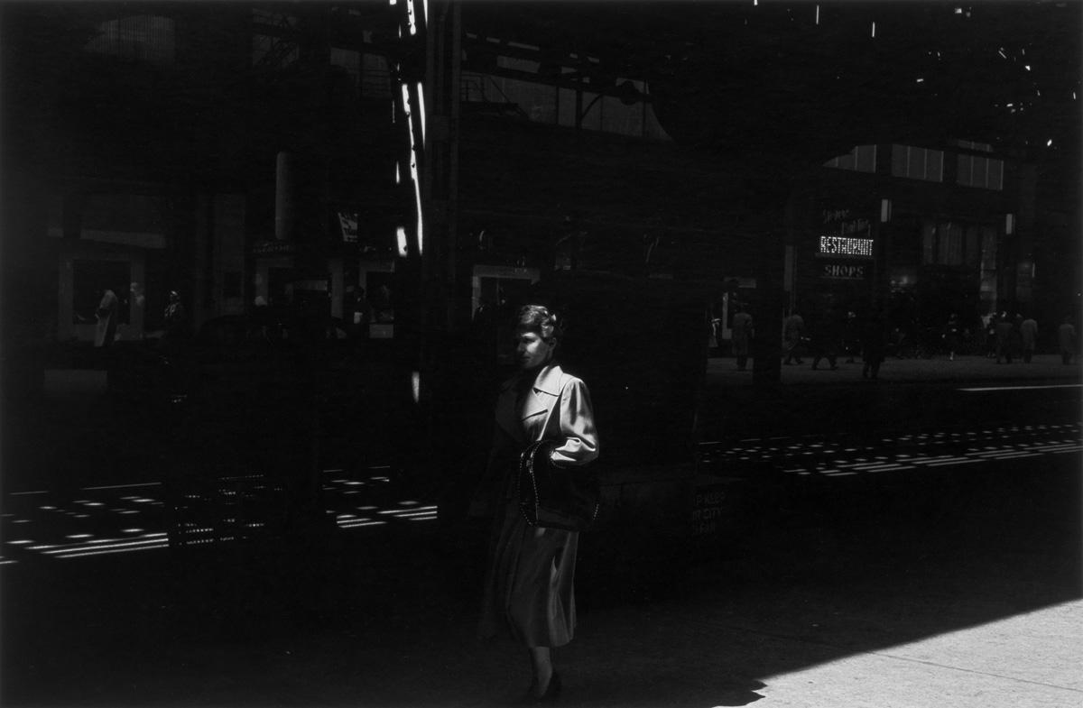 Chicago, 1950, silver gelatin print