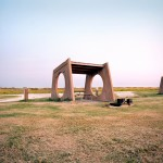 Rest stop at Galveston, Texas, from The Last Stop: Vanishing Rest Stops of the American Roadside