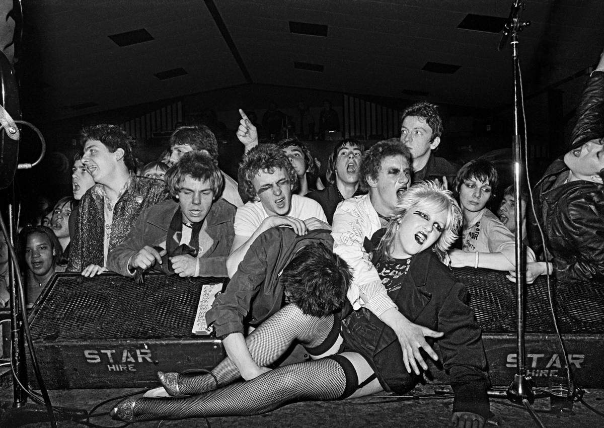 Militant Entertainment tour, West Runton Pavilion, Cromer, Norfolk, 1979